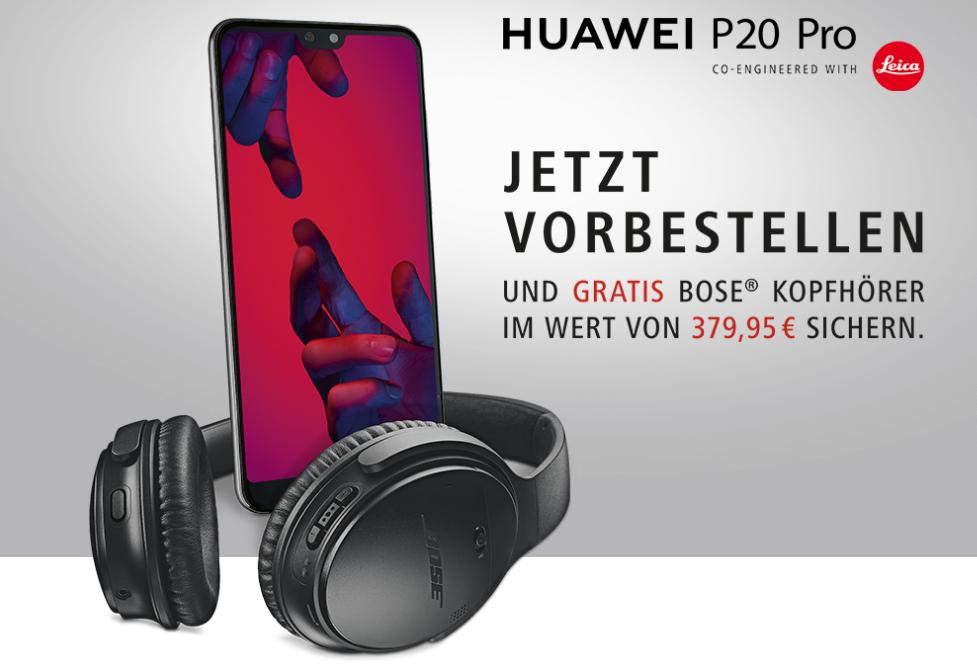 Huawei P20 Vorbestellung