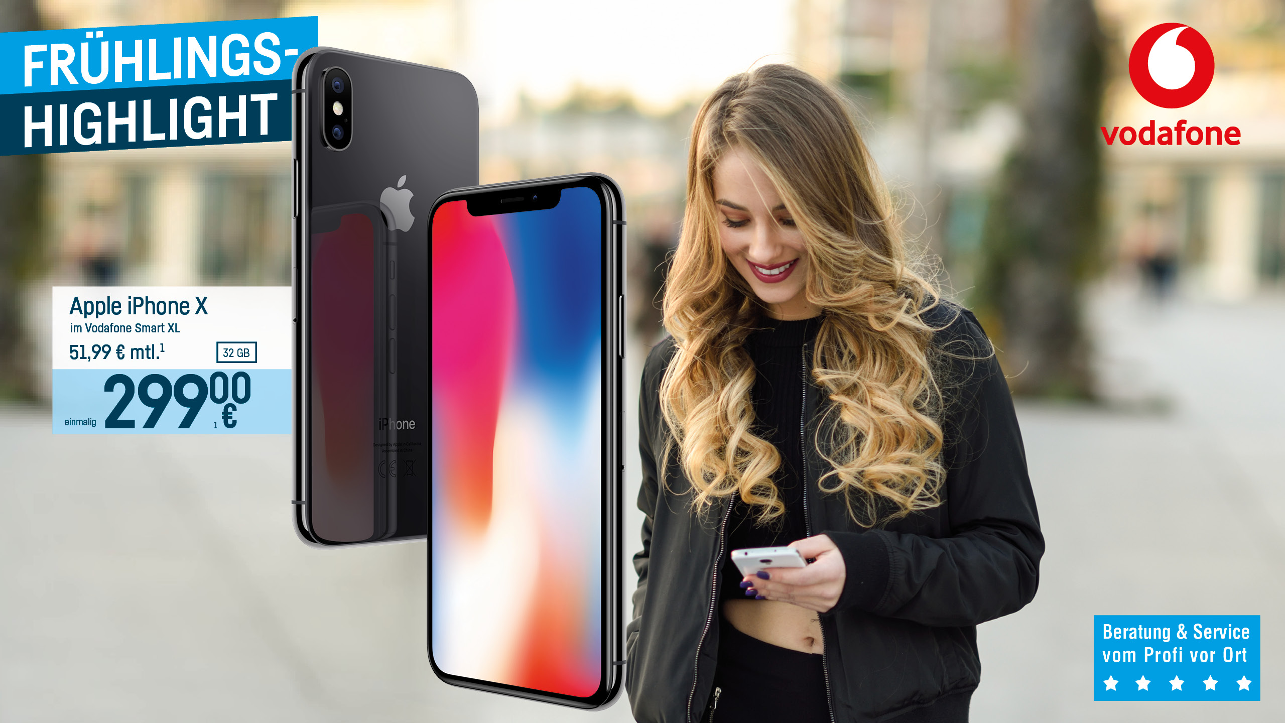 Vodafone - Apple iPhone X Smartphone